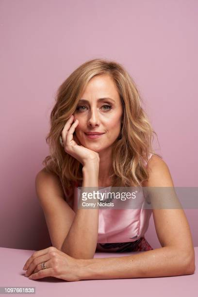 Lifetime director Kim Raver poses for a portrait during the 2019 Winter TCA at The Langham Huntington Pasadena on February 10 2019 in Pasadena...