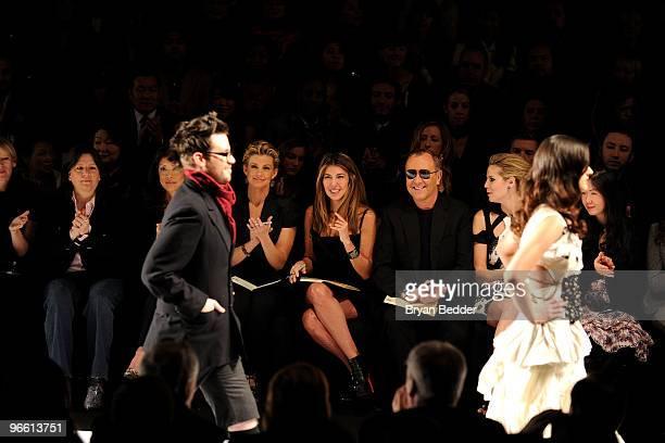 Lifetime EVP Joann Alfano Lifetime CEO Andrea Wong singer Faith Hill Fashion Director of Elle and Marie Claire Nina Garcia designer Michael Kors...