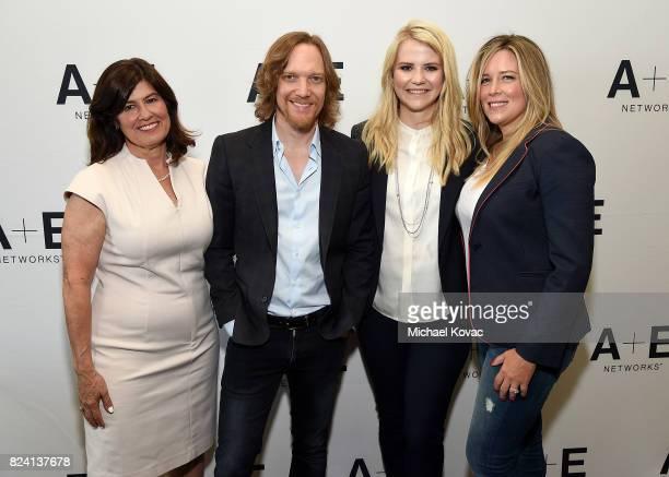 Lifetime Original Movies SVP Tanya Lopez executive producer Joseph Freed narrator/producer Elizabeth Smart and executive producer Allison Berkley of...