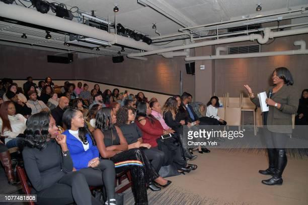 Lifetime Unscripted Development and Programming SVP Brie Miranda Bryant attends Lifetime / NeueHouse Luminaries series 'Surviving R Kelly'...