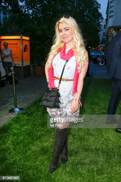 Lifetsyle Blogger Nadine Trompka during the 'True Berlin' Hosted By Shan Rahimkhan on July 11 2017 in Berlin Germany
