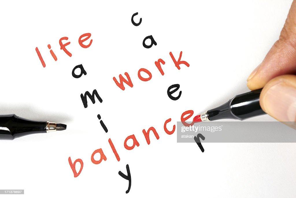 Life-Work Balance : Stock Photo