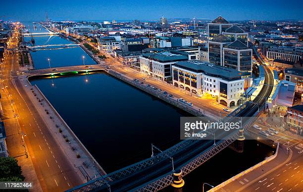 R Liffey, Docklands, Dublin, Ireland.
