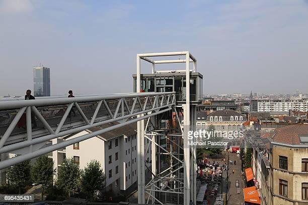 lift at the city-quarter Marollen