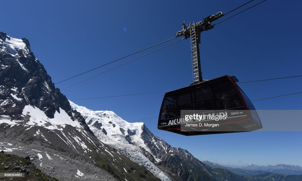 Aiguille du Midi in Chamonix in France for views across to Italy and Switzerland.