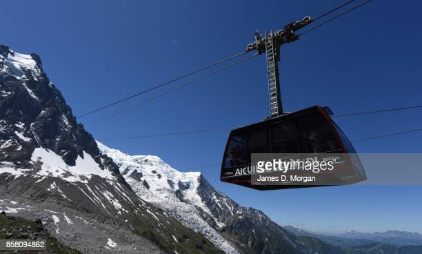Lift for Aiguille du Midi in France at June 16th 2017