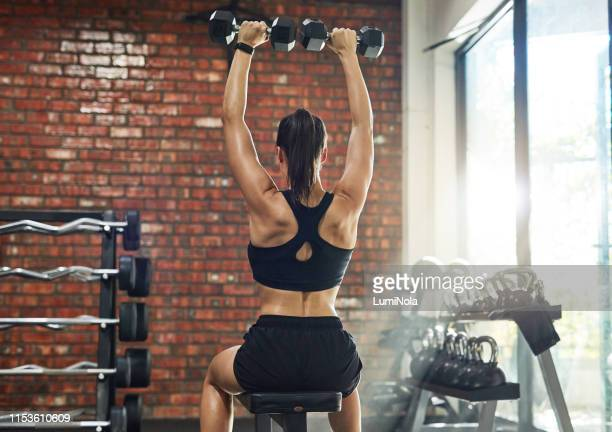 lift for the love of good health - strength training stock pictures, royalty-free photos & images