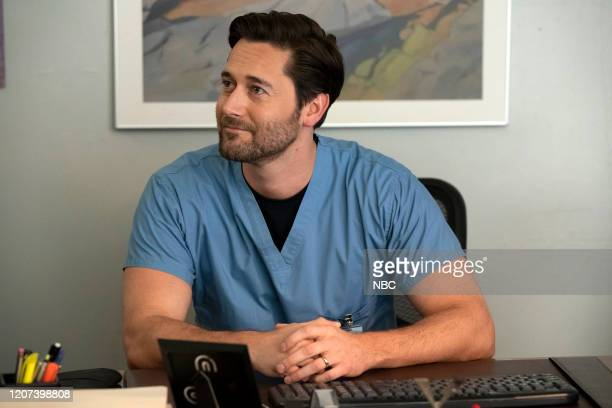 NEW AMSTERDAM Liftoff Episode 217 Pictured Ryan Eggold as Dr Max Goodwin