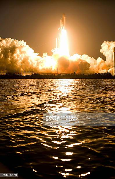 Lift-off of Space Shuttle Discovery.