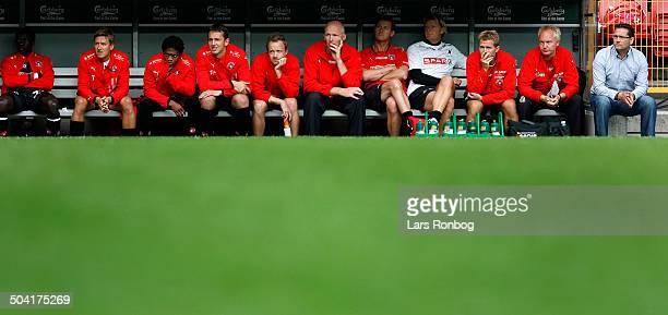 Liga Coach Thomas Thomasberg FC Midtjylland © Lars Rønbøg / Frontzonesportdk