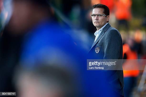 Liga Coach Thomas Thomasberg FCM FC Midtjylland © Lars Rønbøg / Frontzonesport