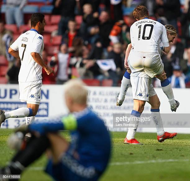 Liga César Santin FCK 30 against Vejle Jesper Grønkjær FCK © Lars Rønbøg / Frontzonesport