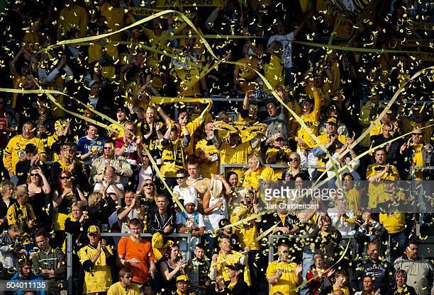Liga Fans from AC Horsens © Jan Christensen / Frontzonesportdk
