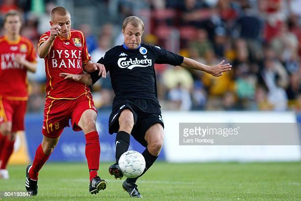 Liga Kenni Olsen FC Nordsjælland FCN Hjalte Nørregaard FCK