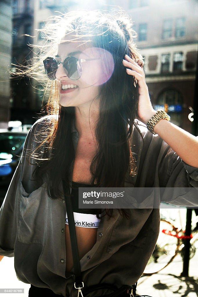 Street Style - New York City - June 2016 : News Photo