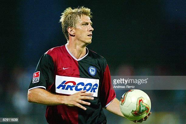 Liga Pokal 2003 Dessau Hamburger SV Hertha BSC Berlin 21 Marko REHMER/Hertha