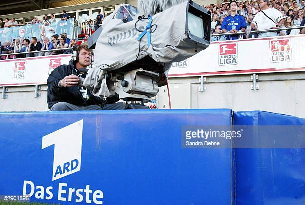 Liga Pokal 2003 Finale Mainz Borussia Dortmund Hamburger SV ARD Medien/Kamera