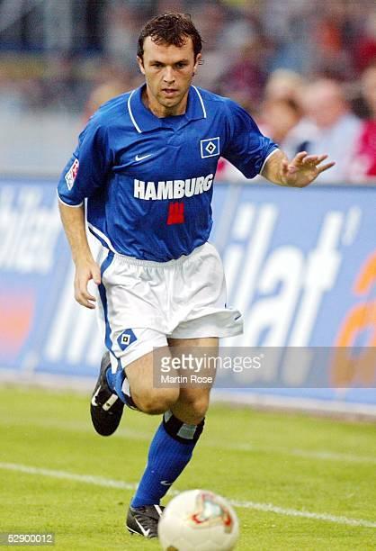 Liga Pokal 2003, Jena; FC Bayern Muenchen - Hamburger SV 4:7 n.E.; Bernardo ROMEO/HSV