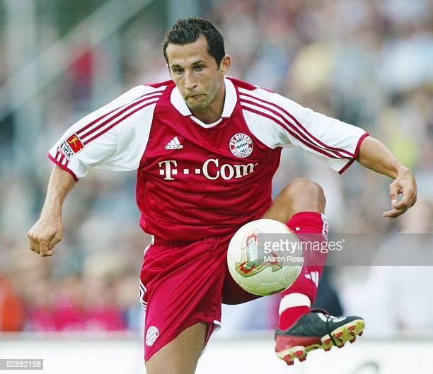 Liga Pokal 2003, Jena; FC Bayern Muenchen - Hamburger SV 4:7 n.E.; Hasan SALIHAMIDZIC/Bayern