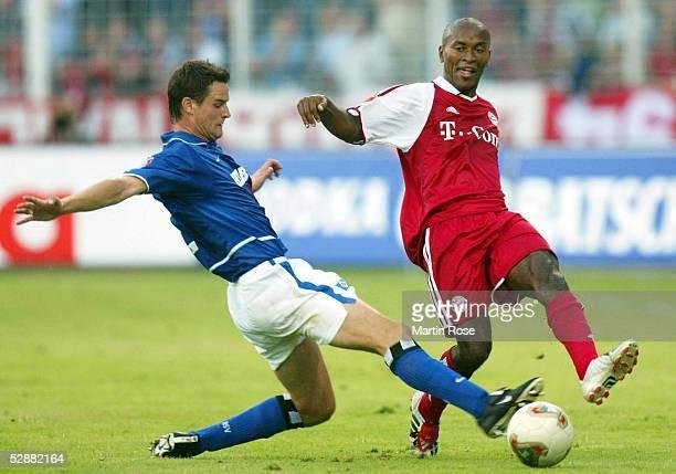 Liga Pokal 2003 Jena FC Bayern Muenchen Hamburger SV 47 nE Marcel MALTRITZ/HSV Ze ROBERTO/Bayern