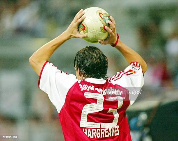 Liga Pokal 2003 Jena FC Bayern Muenchen Hamburger SV 47 nE Owen HARGREAVES/Bayern