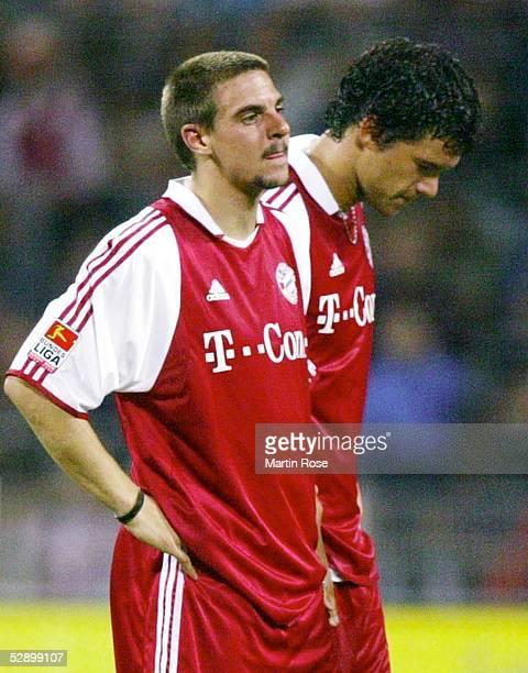 Liga Pokal 2003 Jena FC Bayern Muenchen Hamburger SV 47 nE Sebastian DEISLER Michael BALLACK/Bayern