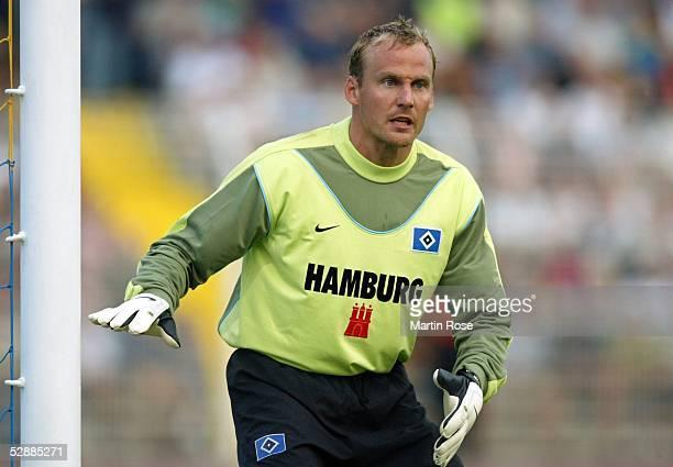 Liga Pokal 2003, Jena; FC Bayern Muenchen - Hamburger SV 4:7 n.E.; Torwart Martin PIECKENHAGEN/HSV
