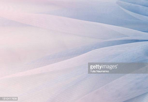 light airy fabric, texture as background - chiffon stock pictures, royalty-free photos & images