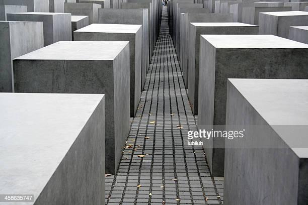 Light & Shadow on Holocaust Memorial in Berlin, Germany
