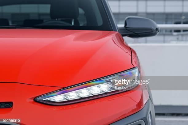 LED light and blinker in a car