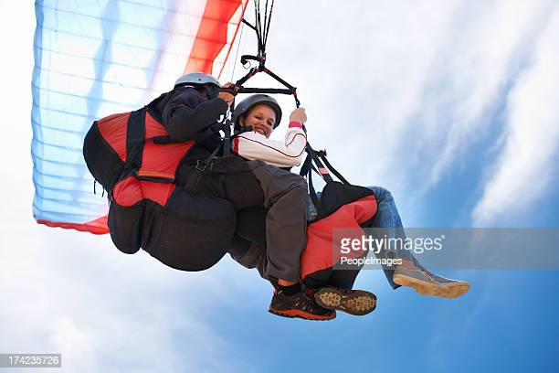 light as air - glider stock photos and pictures