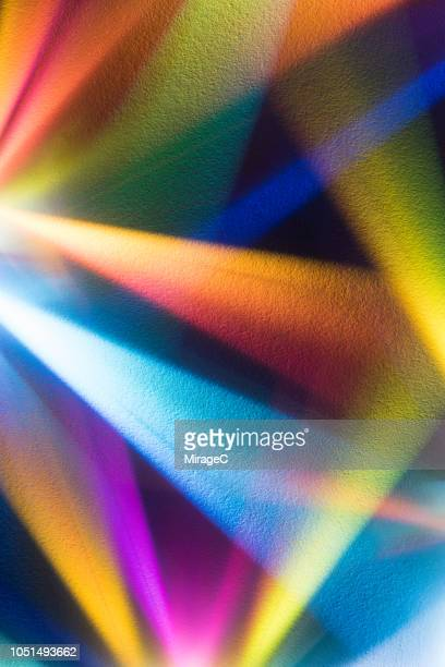 light beams emitting - spectrum stock photos and pictures