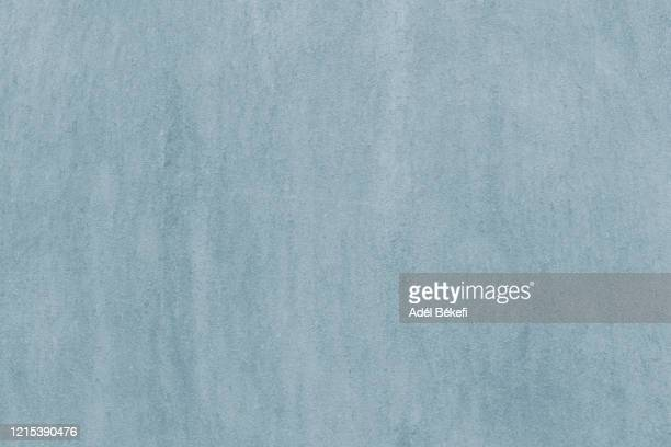 light blue plastered concrete wall - full frame stock pictures, royalty-free photos & images