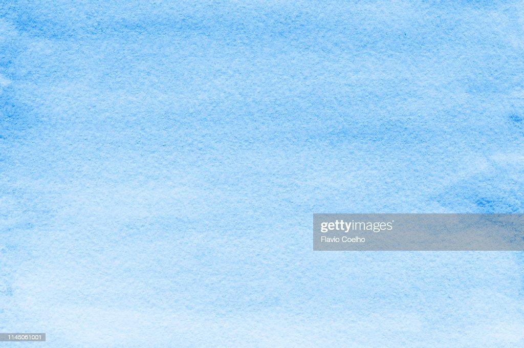 Light blue watercolor background : Stock-Foto