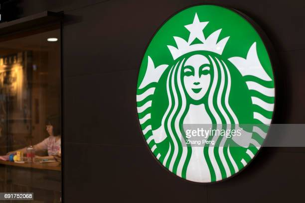 Light box of a Starbucks shop logo In the second quarter of 2017 Starbucks opened its stores to five new cities in China As of now Starbucks China...