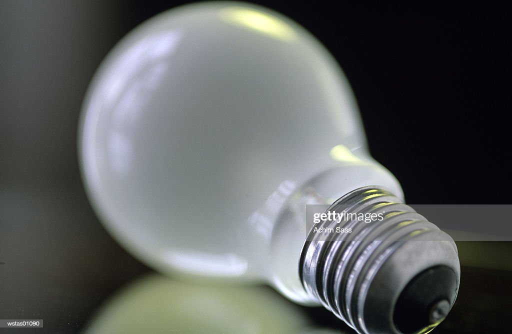 Light bulb, close up : Stock Photo