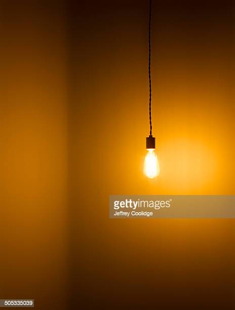 Light Bulb in Corner Tungsten