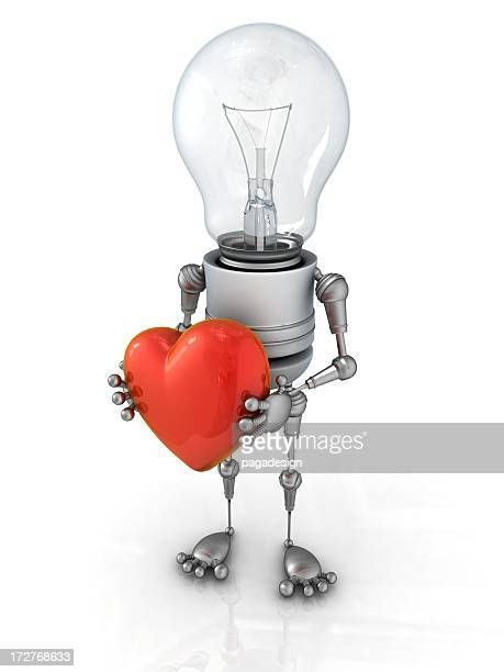light bulb robot