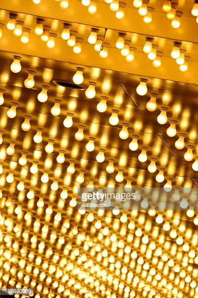 light bulbs - broadway stock pictures, royalty-free photos & images