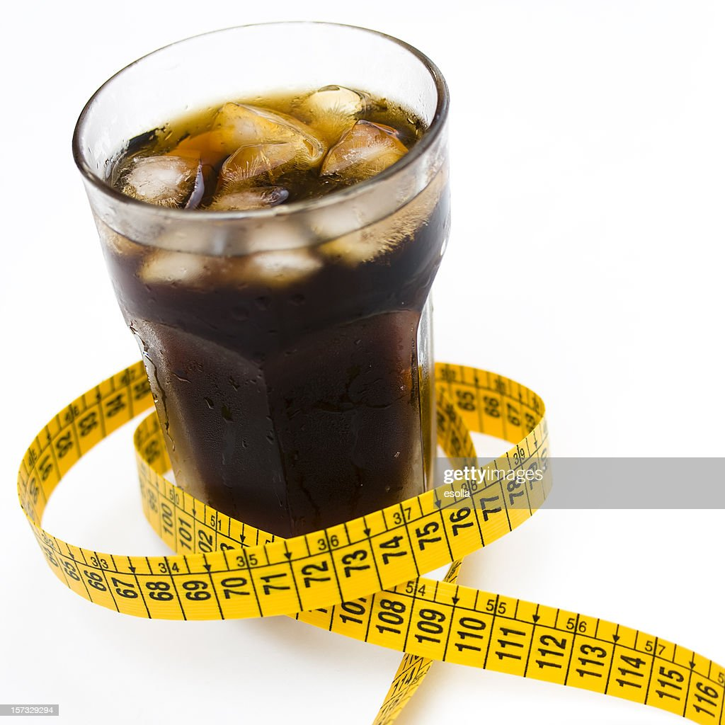 Light cola and diet : Stock Photo
