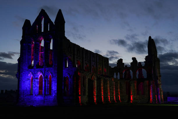 GBR: Illuminations Return To Whitby Abbey After Two Year Break