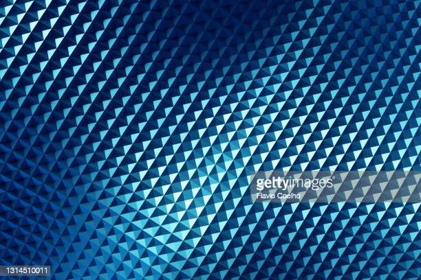 light effect on shiny blue grid abstract background - pattern stock pictures, royalty-free photos & images
