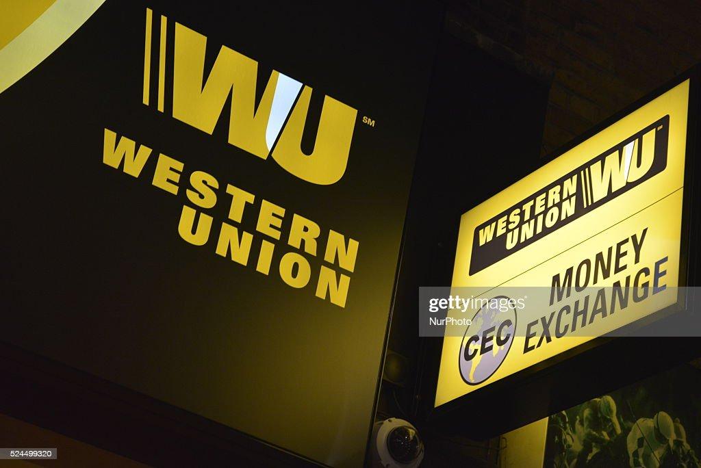 Multi-national company: Western Union : News Photo