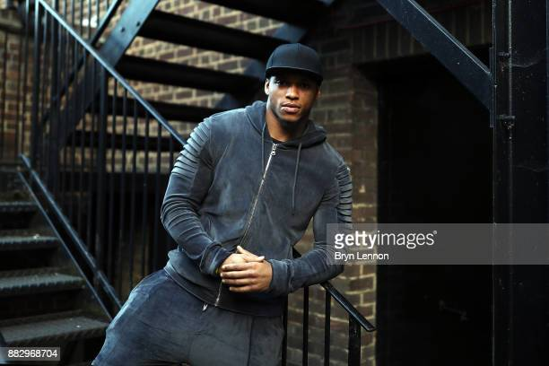 Light heavyweight boxer Anthony Yarde of Great Britain poses for a portrait during a Boxing Academy Press Conference on November 30 2017 in London...