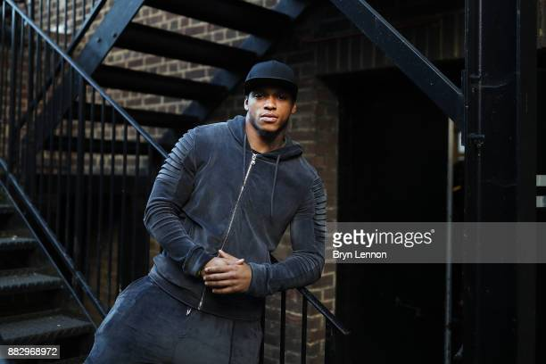 Light heavyweight boxer Anthony Yarde poses for a portrait during a Boxing Academy Press Conference on November 30 2017 in London England