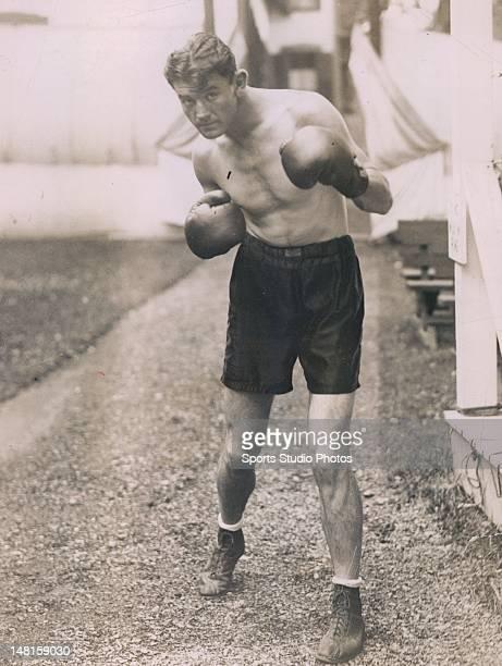 Light heavyweight boxer James Braddock