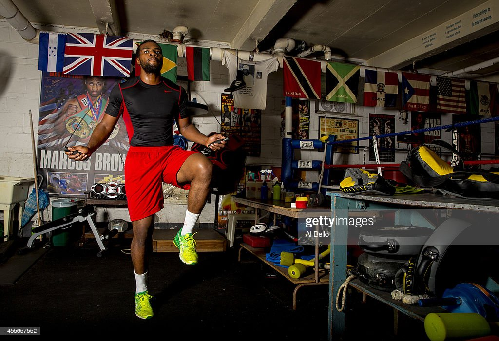 Marcus Browne Portrait Shoot : News Photo
