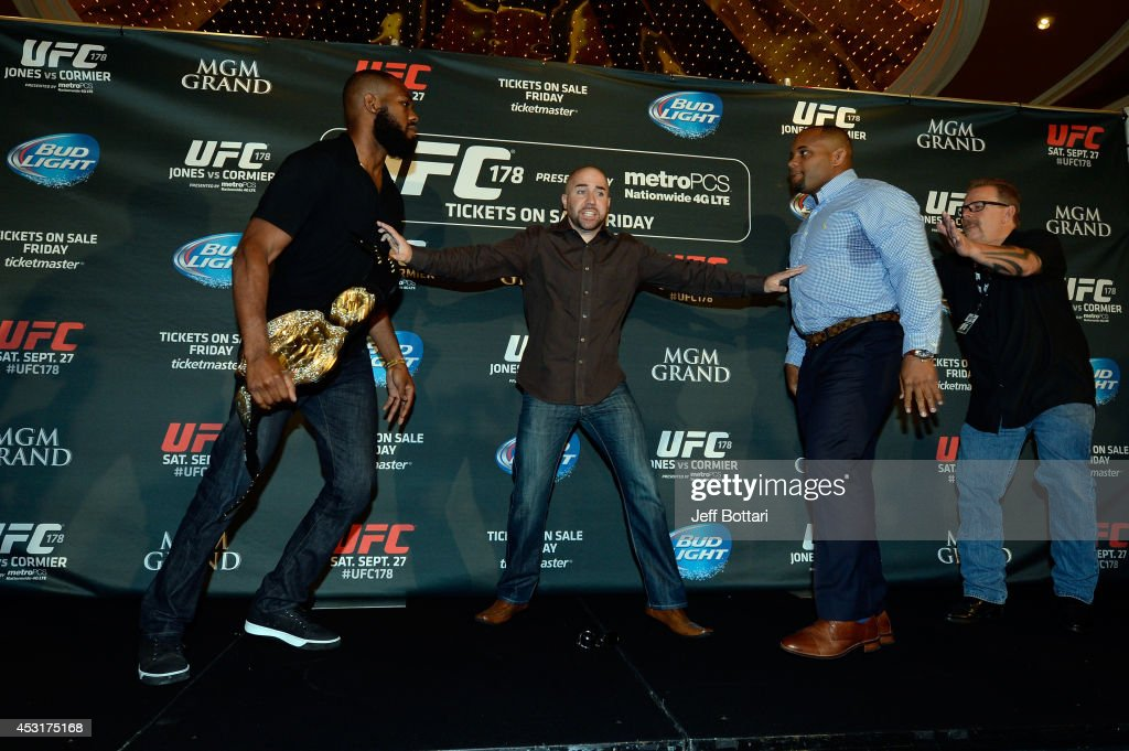 UFC 178: Jones v Cormier - Ultimate Media Day