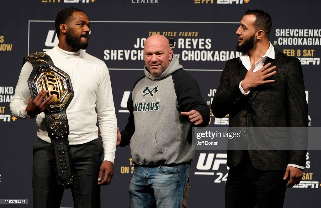 UFC 247  Press Conference : News Photo