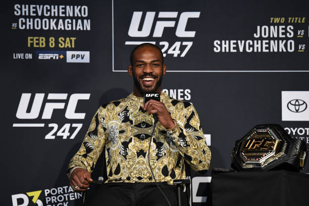 TX: UFC 247 Jones v Reyes: Athlete Panel